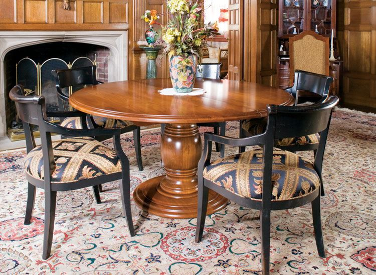 "72"" Round Vineyard Dining Table"