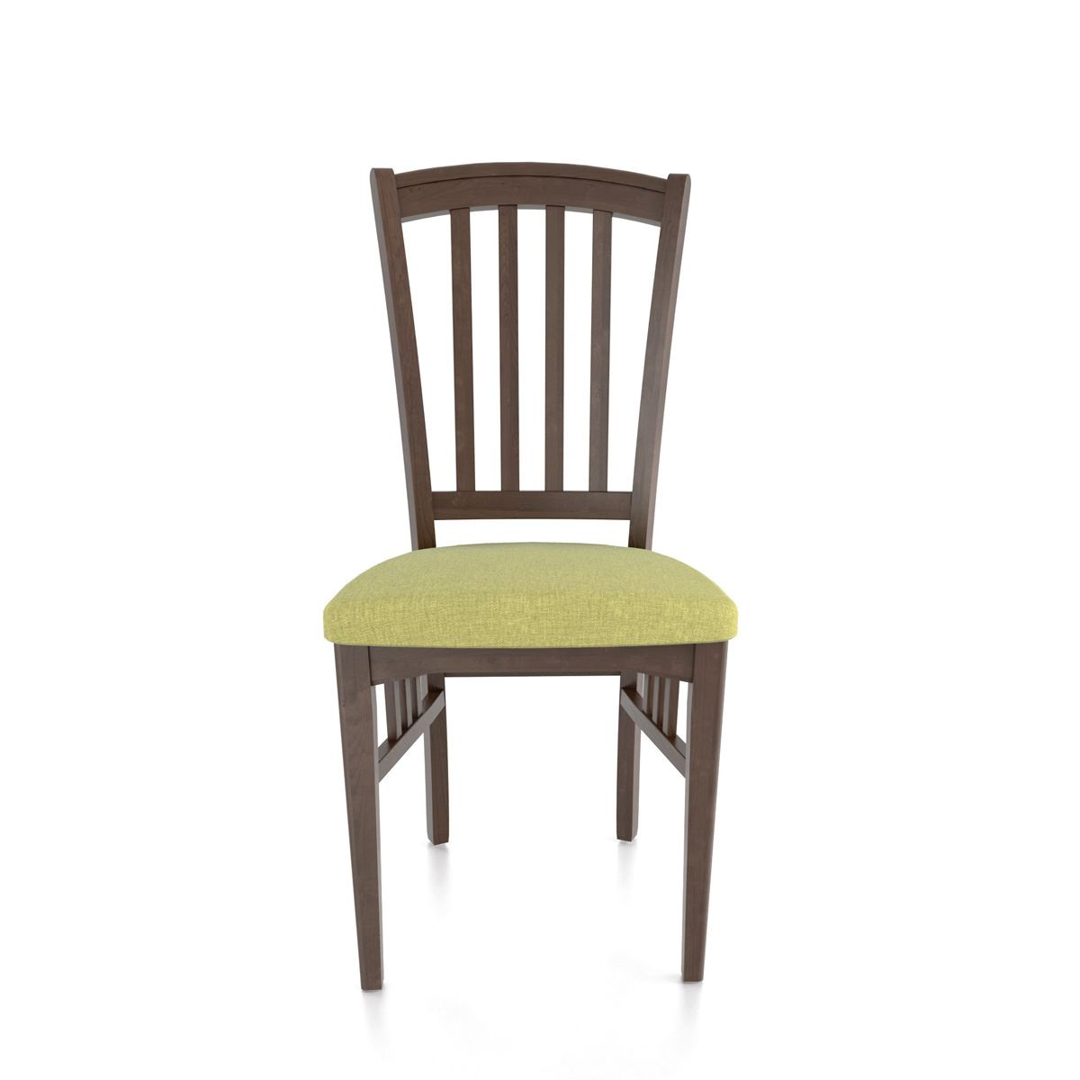 Small mission side chair king dinettes custom dining for Small side chair