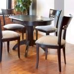 Arched Base Round Dining Set