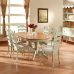 Ladderback Oval Dining Set
