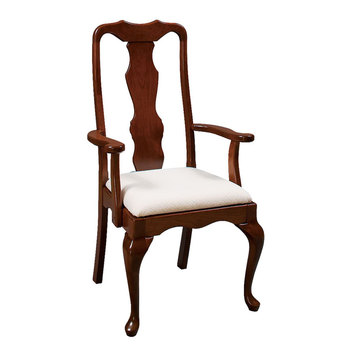 Queen Anne Arm Chair King Dinettes Custom Dining