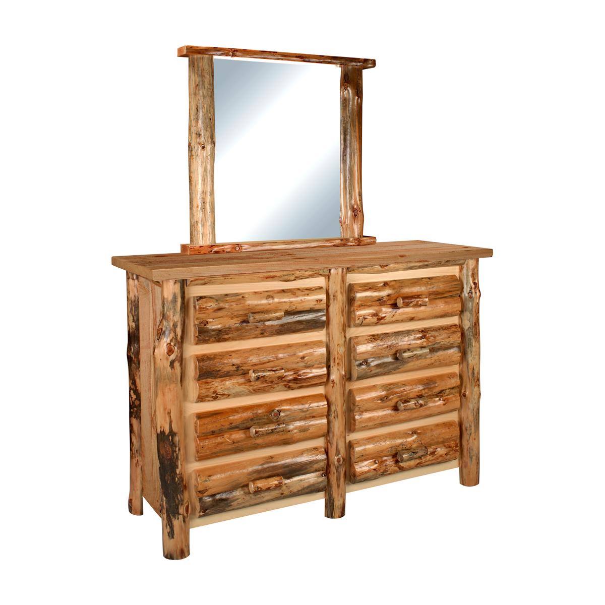 Lodge pole pine bedroom set custom dining furniture kitchen dinettes bedrooms kitchen - Pine bedroom furniture ...