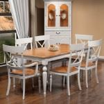 Country X Back Dining Set