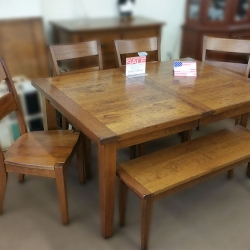 6 Piece Rectangular Dining Set