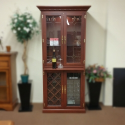 Solid Cherry Wine Cabinet