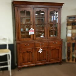 """72"""" Wide China Cabinet"""