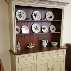 "66"" Wide Open China Cabinet"