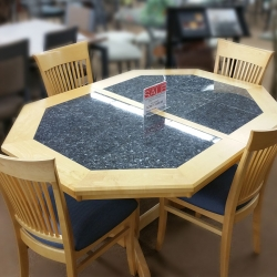 5 Piece Clipped Corner Dining Set