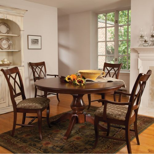 Round Wood Dining Sets