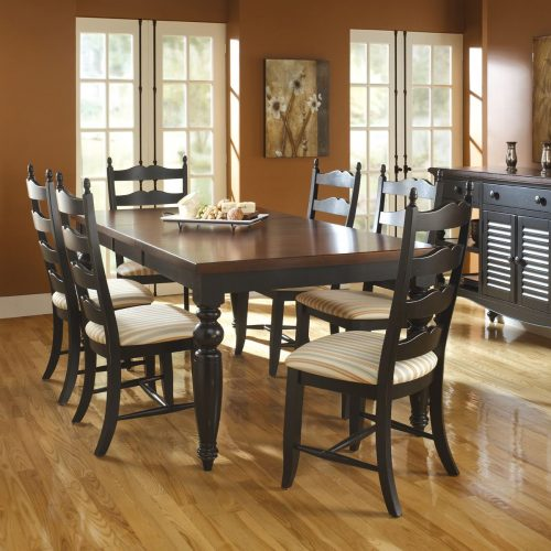 Country Ladderback Dining Set