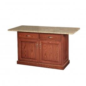 Granite Top Kitchen Island