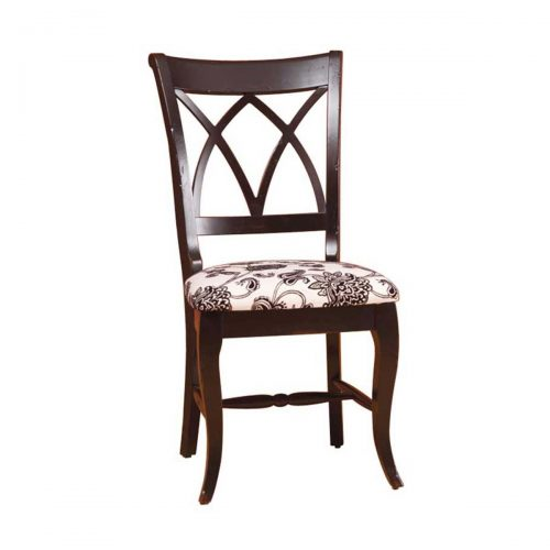 Double X Back Side Chair