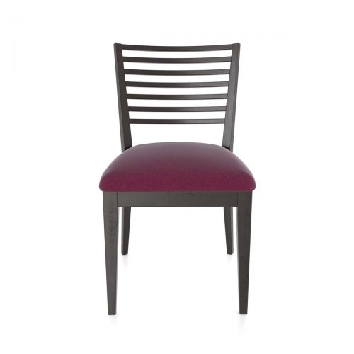 Low Horizontal Slat Chair