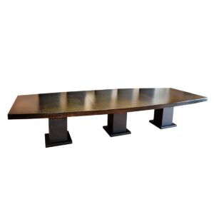 150 Inch Boat Table with Square Base