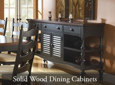 Solid Wood Dining Cabinets