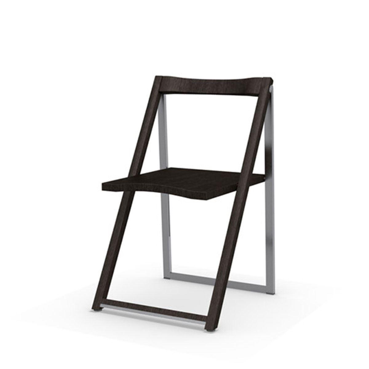 Skip Aluminium Wood Folding Chair ...