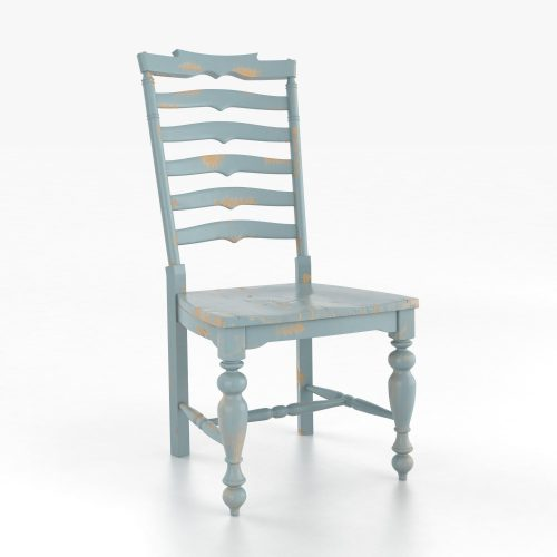 Rustic Country Ladderback Chair