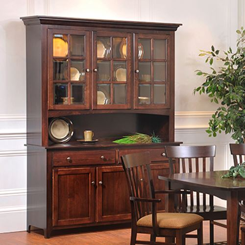 Amish Dining Cabinets