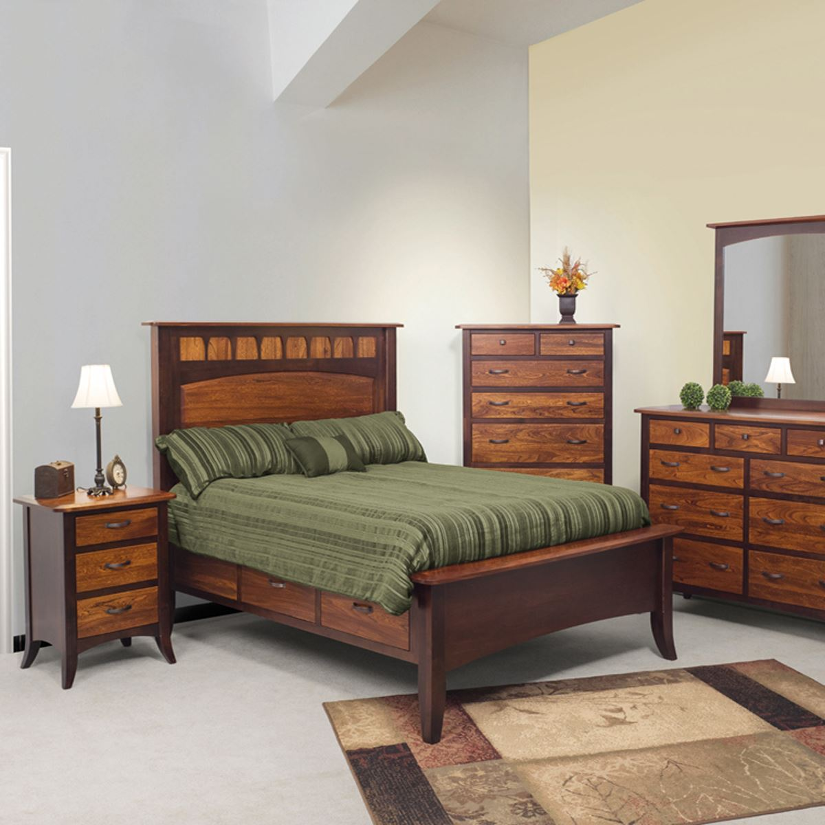 Solid Wood Bedroom Sets
