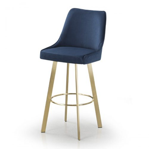 Olivia Bar Stool (Shown in Brass)