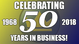 50 YEARS IN BUSINESS!